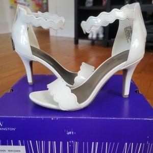 Worthington White Heels Size 6.5
